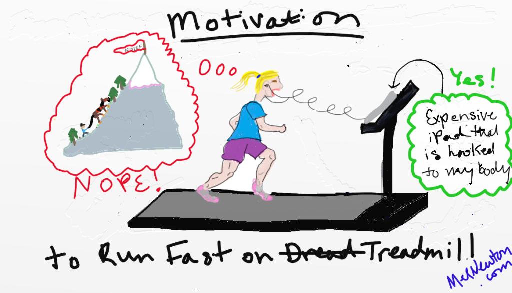 dreadmill motivation